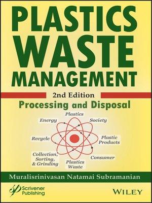 cover image of Plastics Waste Management