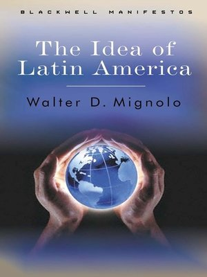 cover image of The Idea of Latin America