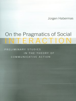 cover image of On the Pragmatics of Social Interaction
