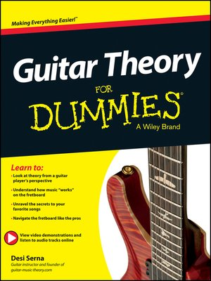 cover image of Guitar Theory For Dummies