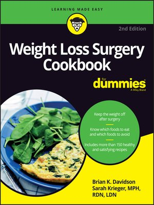 cover image of Weight Loss Surgery Cookbook For Dummies
