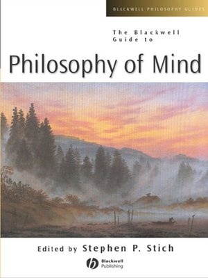 cover image of The Blackwell Guide to Philosophy of Mind