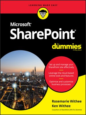 cover image of SharePoint For Dummies