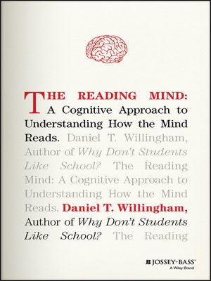 cover image of The Reading Mind