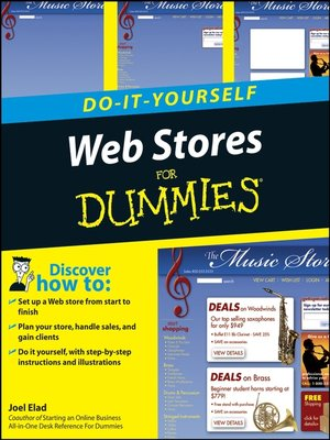 cover image of Web Stores Do-It-Yourself For Dummies