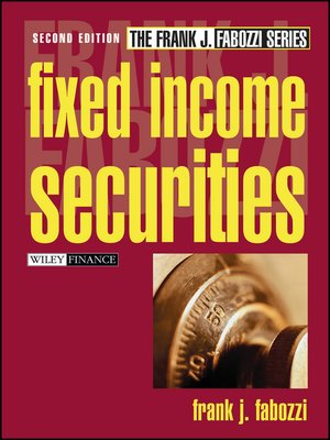 cover image of Fixed Income Securities