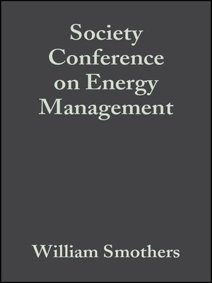 cover image of Society Conference on Energy Management