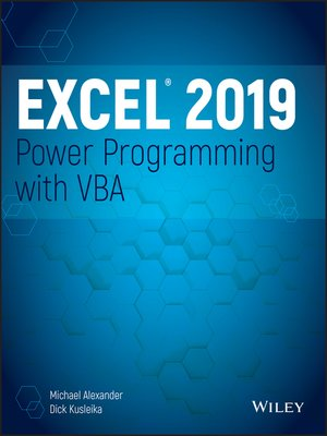 cover image of Excel 2019 Power Programming with VBA