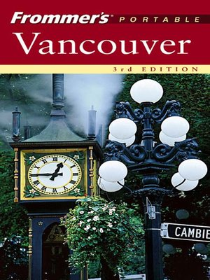 cover image of Frommer's Portable Vancouver
