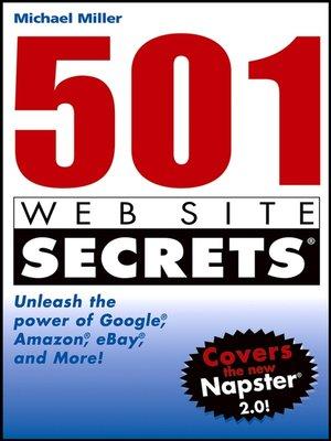 cover image of 501 Web Site Secrets