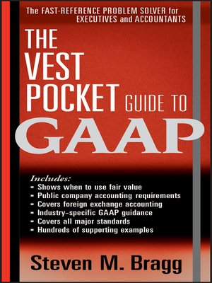 cover image of The Vest Pocket Guide to GAAP