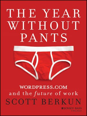 cover image of The Year Without Pants