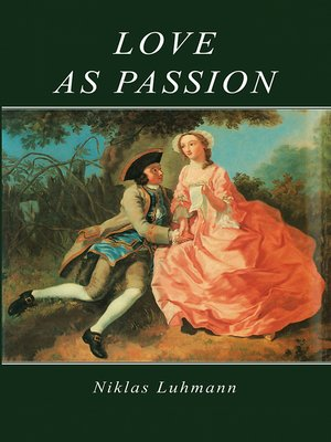 cover image of Love as Passion