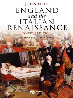 cover image of England and the Italian Renaissance