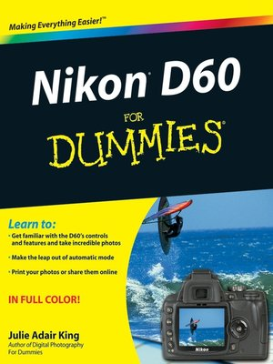 cover image of Nikon D60 For Dummies