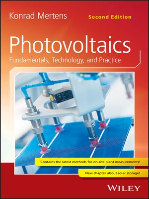 cover image of Photovoltaics