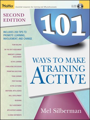 cover image of 101 Ways to Make Training Active