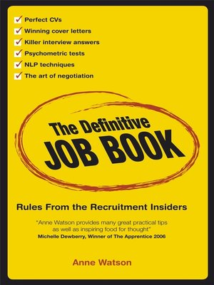 cover image of The Definitive Job Book