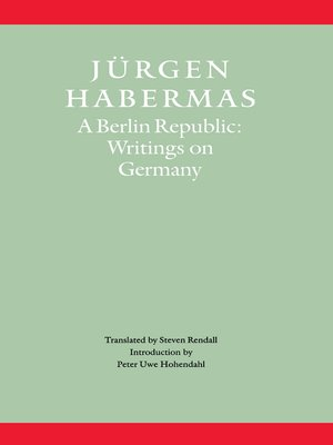 cover image of A Berlin Republic