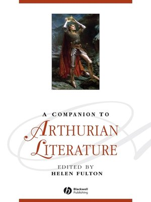 cover image of A Companion to Arthurian Literature