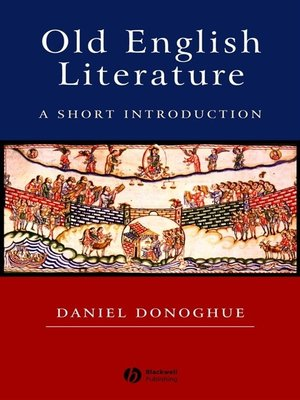 cover image of Old English Literature