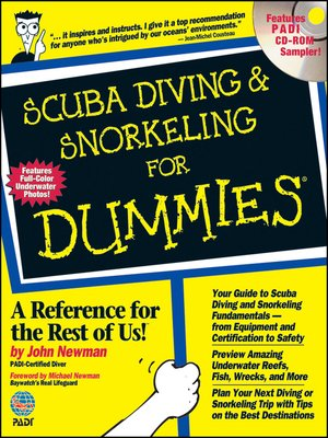 cover image of Scuba Diving and Snorkeling For Dummies