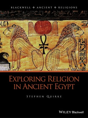 cover image of Exploring Religion in Ancient Egypt