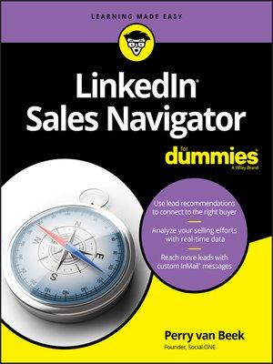cover image of LinkedIn Sales Navigator For Dummies