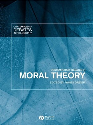 cover image of Contemporary Debates in Moral Theory