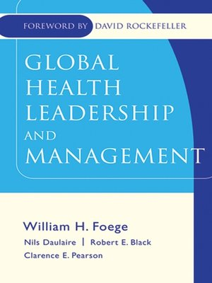 cover image of Global Health Leadership and Management