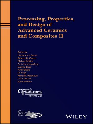 cover image of Processing, Properties, and Design of Advanced Ceramics and Composites II