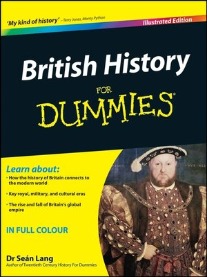 cover image of British History For Dummies