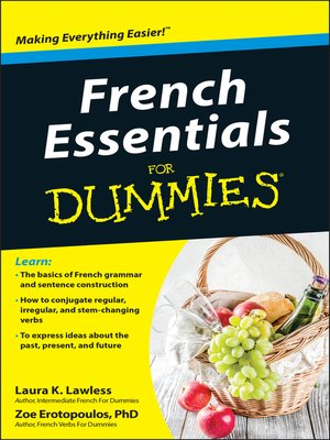cover image of French Essentials For Dummies