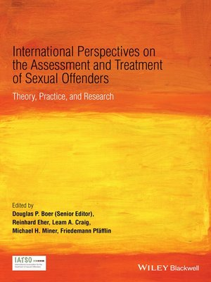 cover image of International Perspectives on the Assessment and Treatment of Sexual Offenders