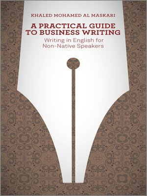 cover image of A Practical Guide to Business Writing