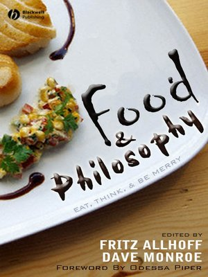 cover image of Food and Philosophy