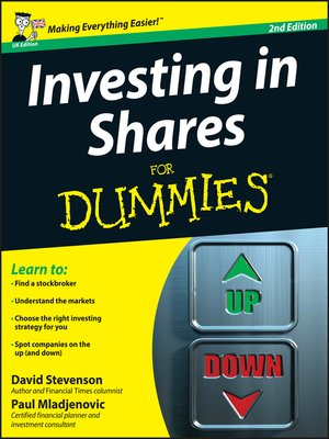 cover image of Investing in Shares For Dummies
