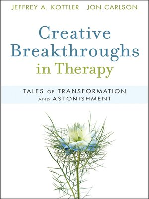cover image of Creative Breakthroughs in Therapy