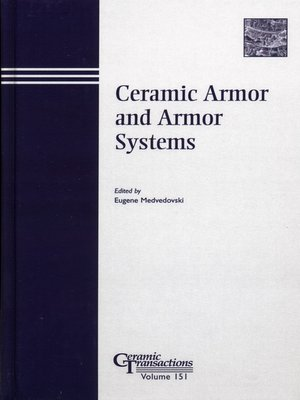 cover image of Ceramic Armor and Armor Systems