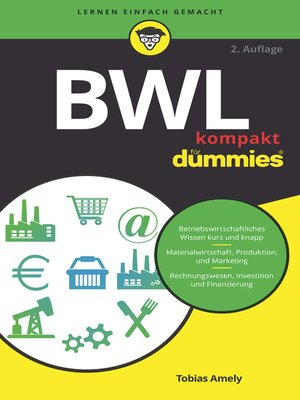 cover image of BWL kompakt für Dummies