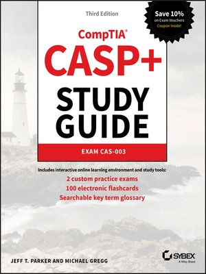 cover image of CASP+ CompTIA Advanced Security Practitioner Study Guide