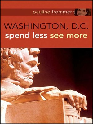 cover image of Pauline Frommer's Washington D.C.