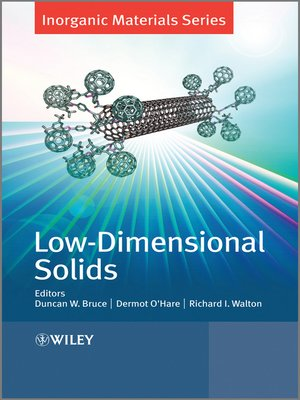 cover image of Low-Dimensional Solids