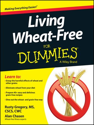 cover image of Living Wheat-Free For Dummies
