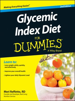 cover image of Glycemic Index Diet For Dummies