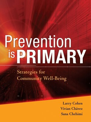 cover image of Prevention is Primary