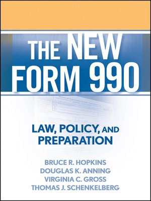 cover image of The New Form 990