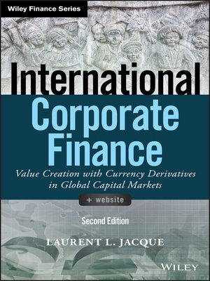 cover image of International Corporate Finance