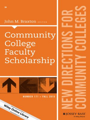 cover image of Community College Faculty Scholarship, CC 171