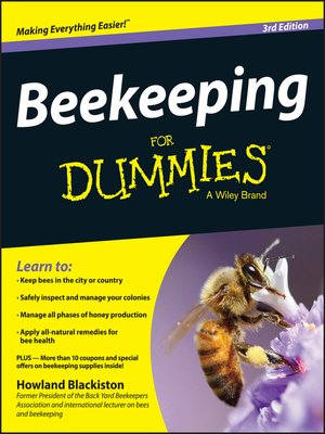 cover image of Beekeeping for Dummies